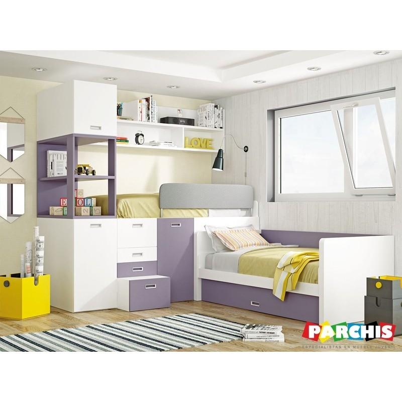 Donde comprar camas tren en madrid dormitorios con dos camas - Camas abatibles literas ...