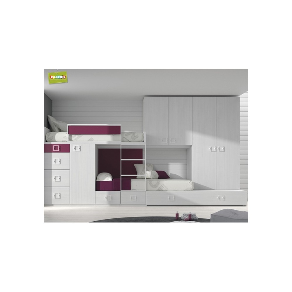 Con literas juveniles simple con literas juveniles with for Mueble henares azuqueca