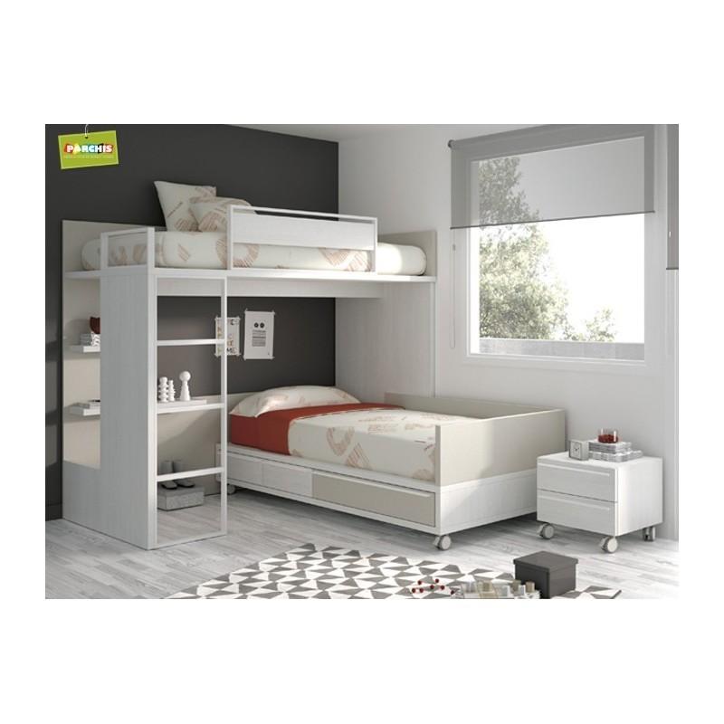 Comprarmueblesjuvenilesenmadrid donde ver modelos de camas juveniles toledo - Cama tipo tren ...