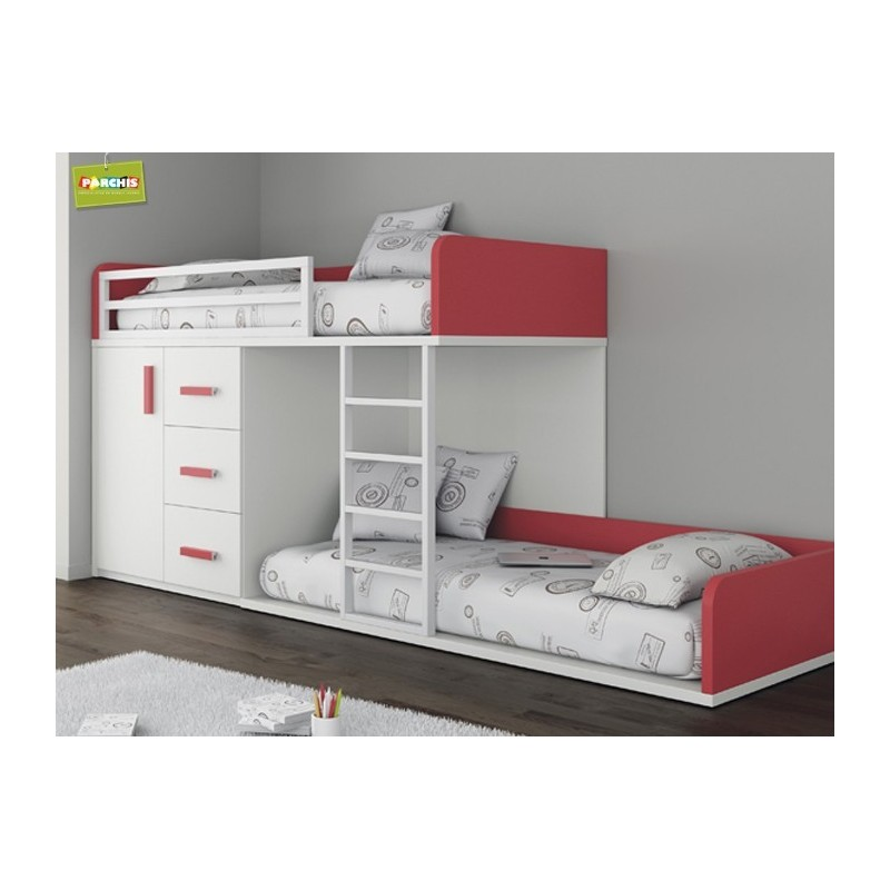 Donde comprar muebles literas tipo tren en madrid y toledo - Habitaciones infantiles de dos camas ...