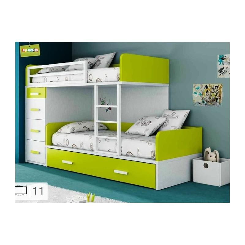 Dormitorios Juveniles 3 Camas. Latest Tienda Muebles De Salon De ...