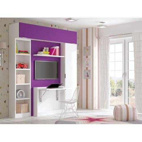 Dormitorios con Camas Abatibles Horizontales Matrimonio