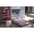 Dormitorios con Camas Abatibles Verticales con Escritorio