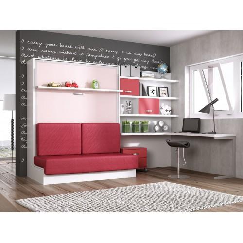 Dormitorios con camas abatibles dormitorios individuales - Muebles en getafe ...