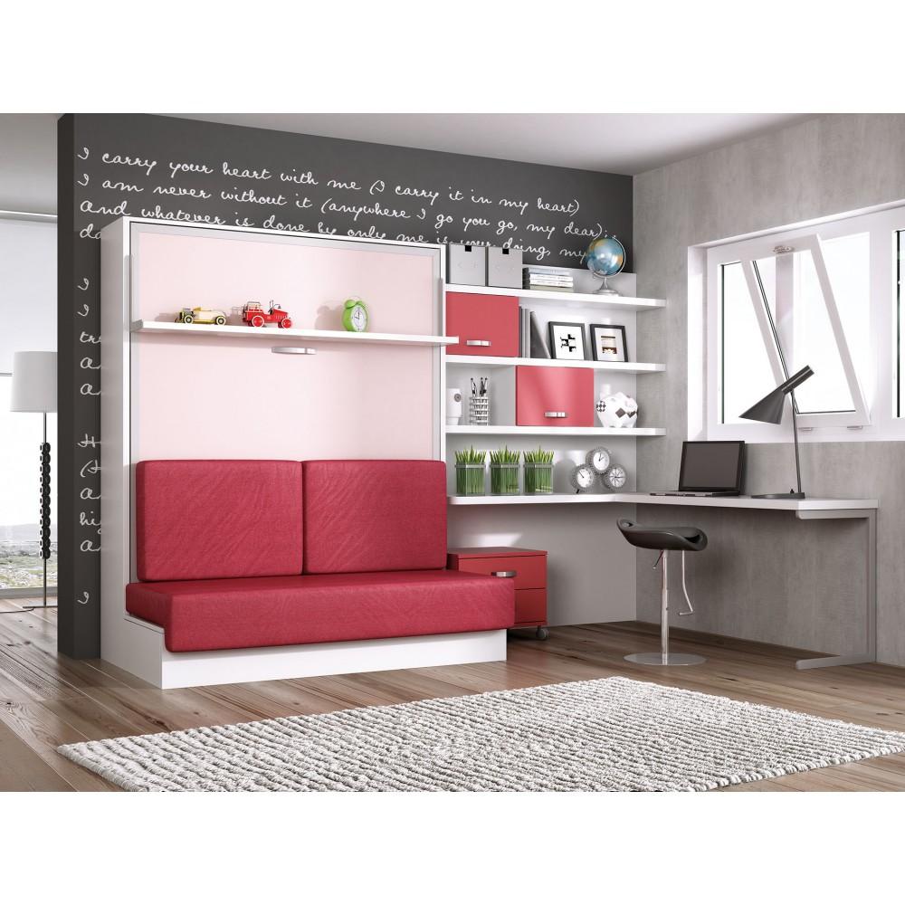 Habitacionesparainvitadosconcamasabatibles for Muebles abatibles