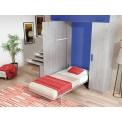 Dormitorios con Camas Abatibles en Sentido Vertical