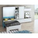 Dormitorios con Camas Abatibles Horizontales Metálicas