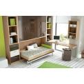 Dormitorios con Camas Abatibles Altas de 90