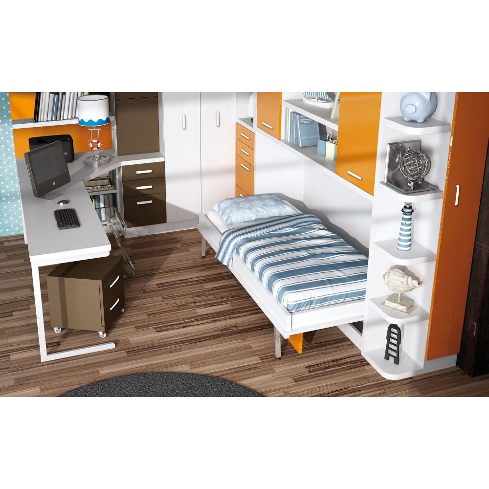 Medidas de camas abatibles awesome dormitorios juveniles - Medidas camas abatibles ...