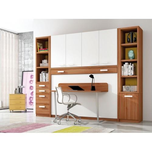 Dormitorios con Camas Abatibles Metalicas Sentido Vertical