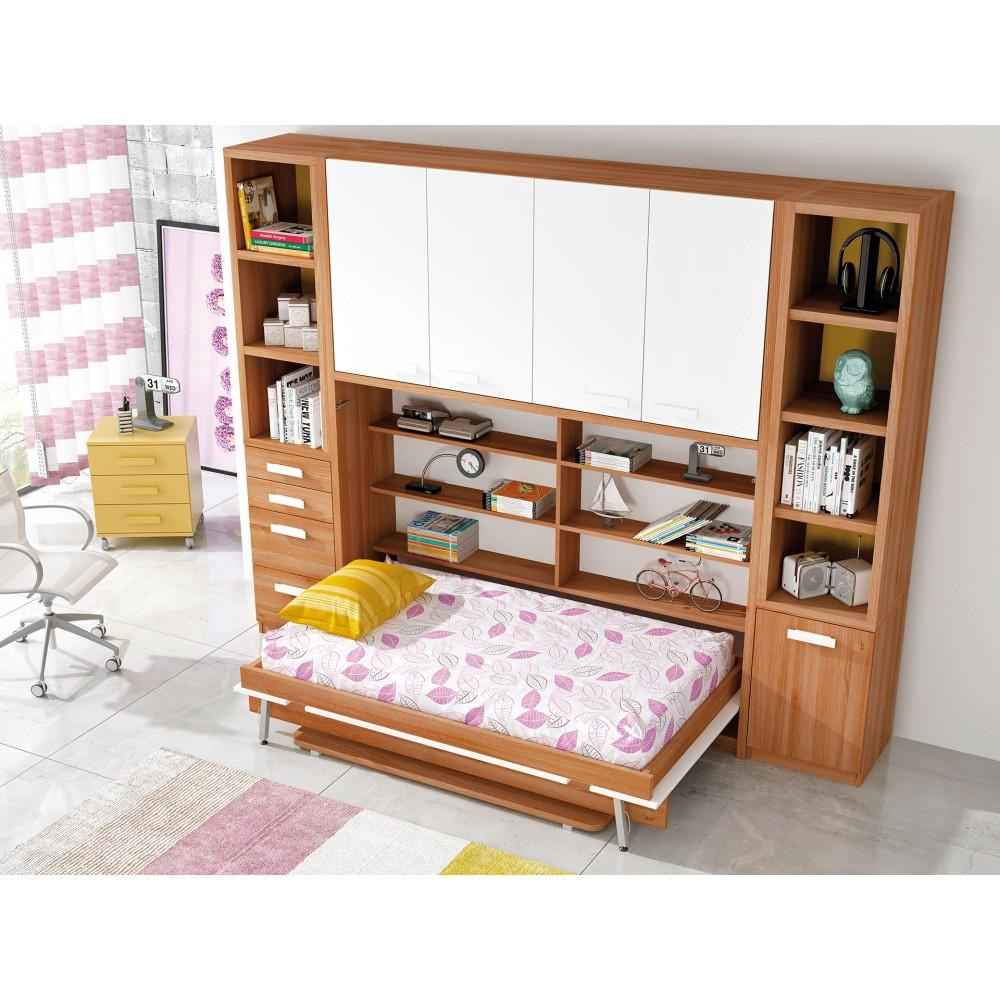 Dormitorios juveniles abatibles muebles abatibles - Camas juveniles abatibles ...