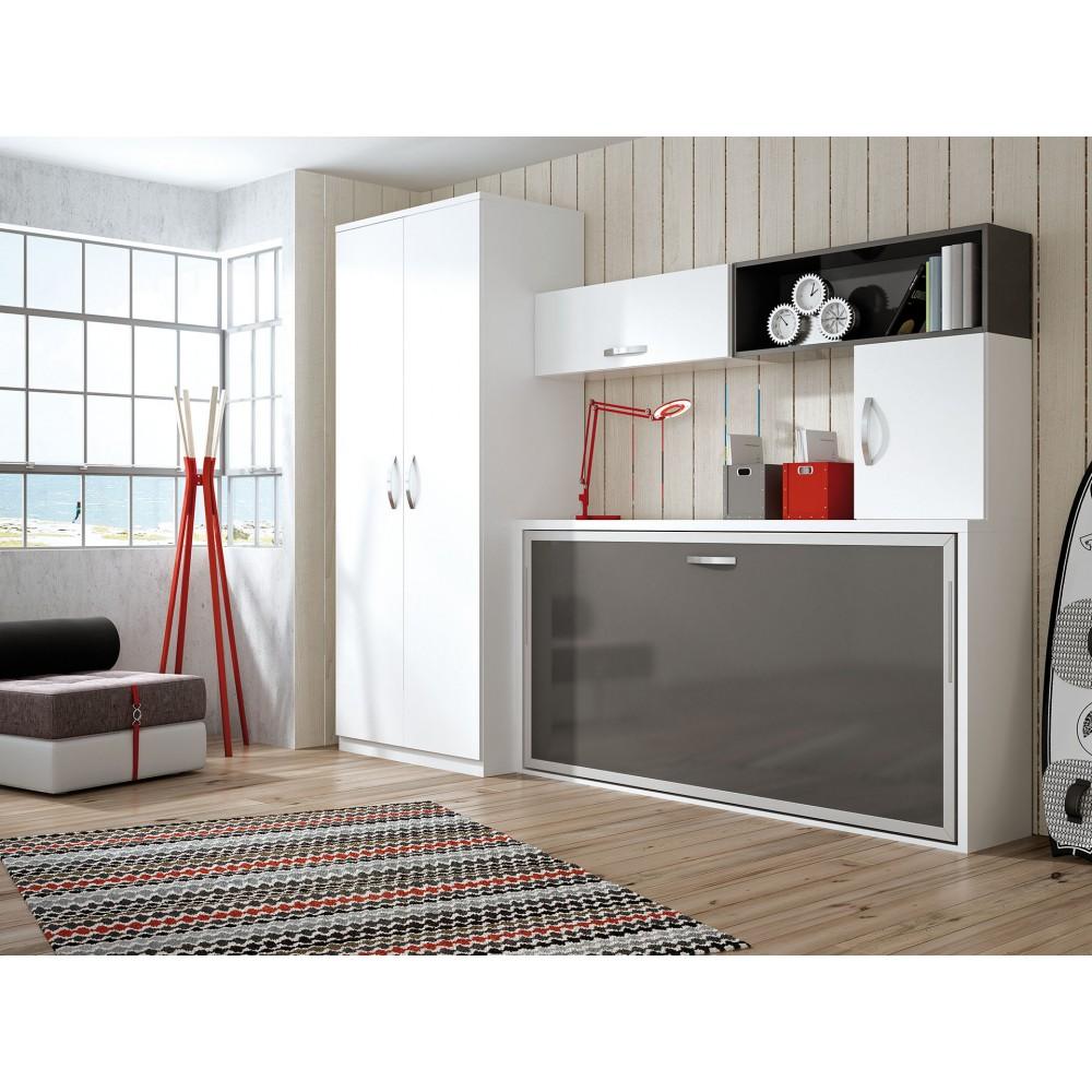 Muebles juveniles con camas abatibles sof mueble sof cama - Camas abatibles madrid ...
