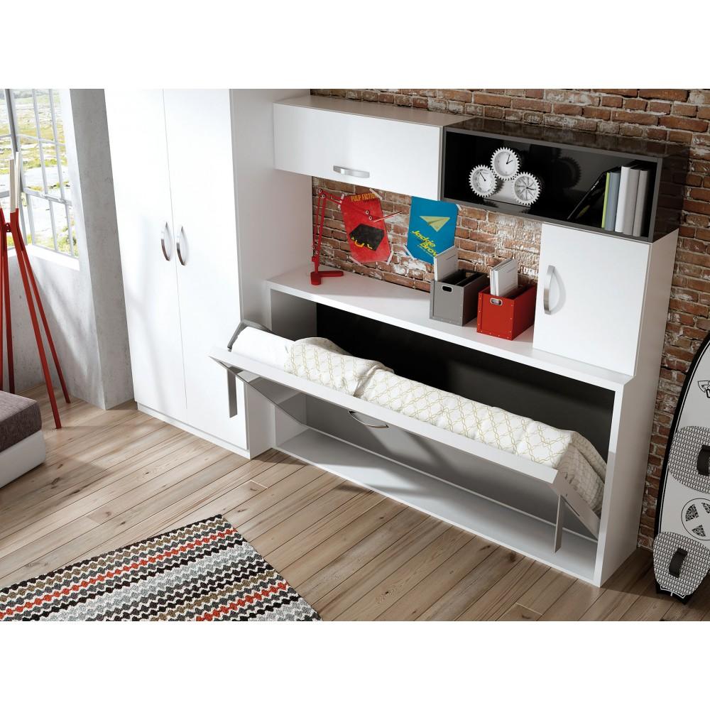 Muebles juveniles con camas abatibles sof mueble sof cama - Dormitorios con camas abatibles ...