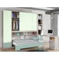 Dormitorios con Camas Abatibles con Armarios