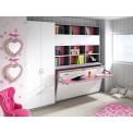 Dormitorios con Camas Abatibles en Sentido Horizontal con Armarios