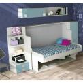 Dormitorios con Camas Abatibles Horizontales con Armarios