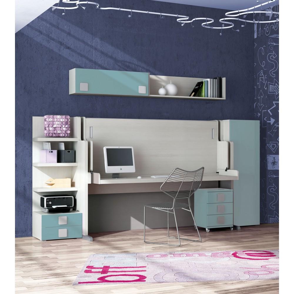 Abatibles camas horizontales para salones muebles cama en madrid - Camas horizontales abatibles ...