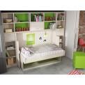 Dormitorios con Camas Abatibles Horizontales de 90
