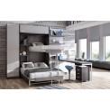 Dormitorios con Literas Abatibles Horizontales Independientes