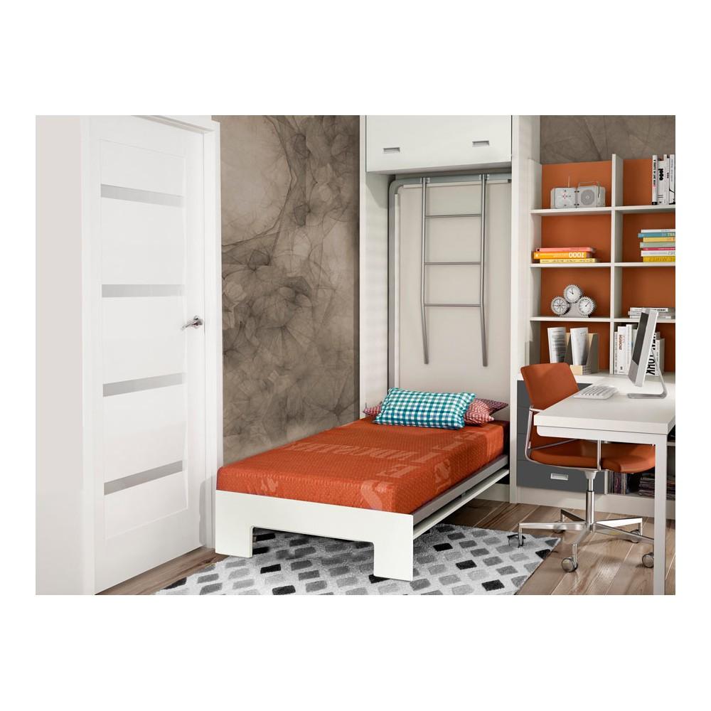 Dormitorios con literas abatibles horizontales para pladur - Dormitorios juveniles literas abatibles ...
