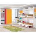 Dormitorios con Literas Abatibles Verticales para Chicas