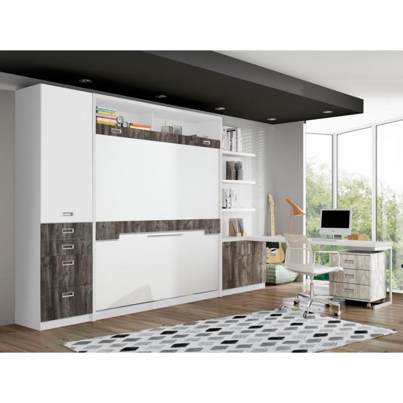 Dormitorio con liteas abatibles Luxemburgo