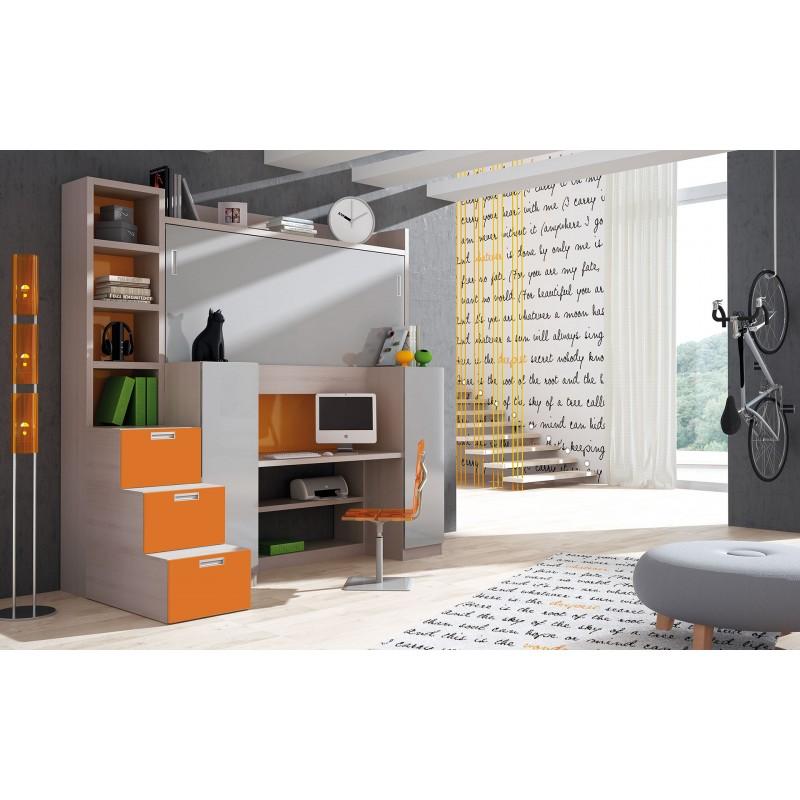 Dormitorio con literas triples Albacete