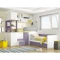 Dormitorio litera triple Málaga