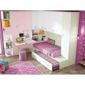 Dormitorio con cama nido Lugo