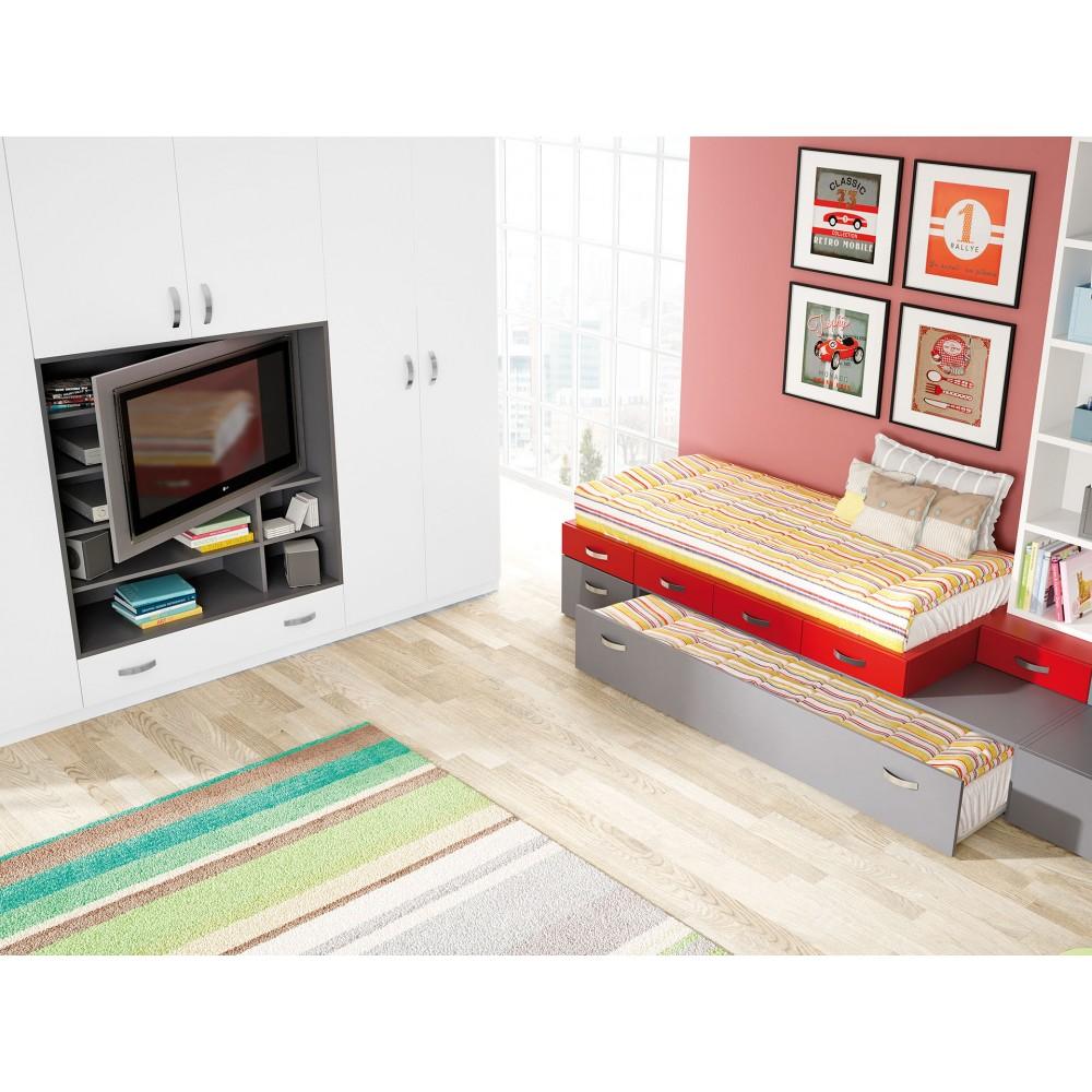 Dormitorio con cama nido bilbao - Dormitorios con cama nido ...