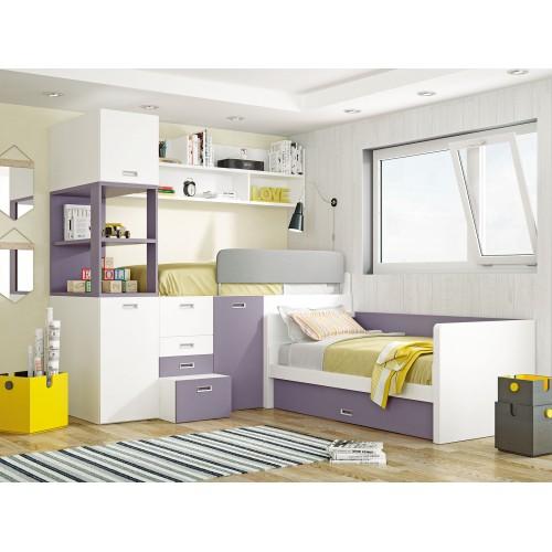 Dormitorio Litera Fija Madrid