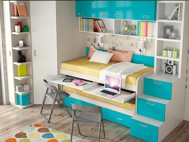 Dormitorios Camas Compactas